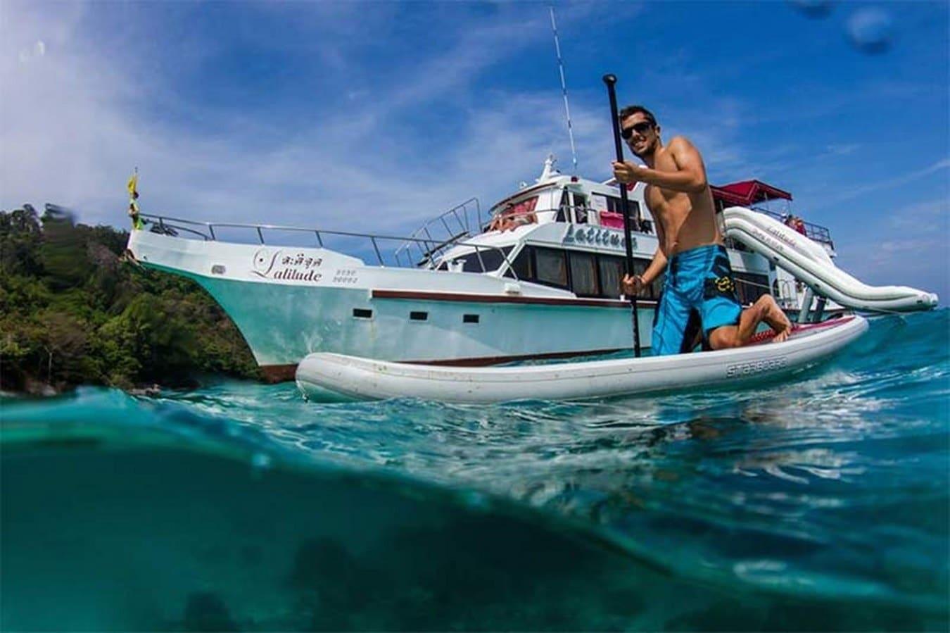 ラチャヤイ島 体験ダイビング
