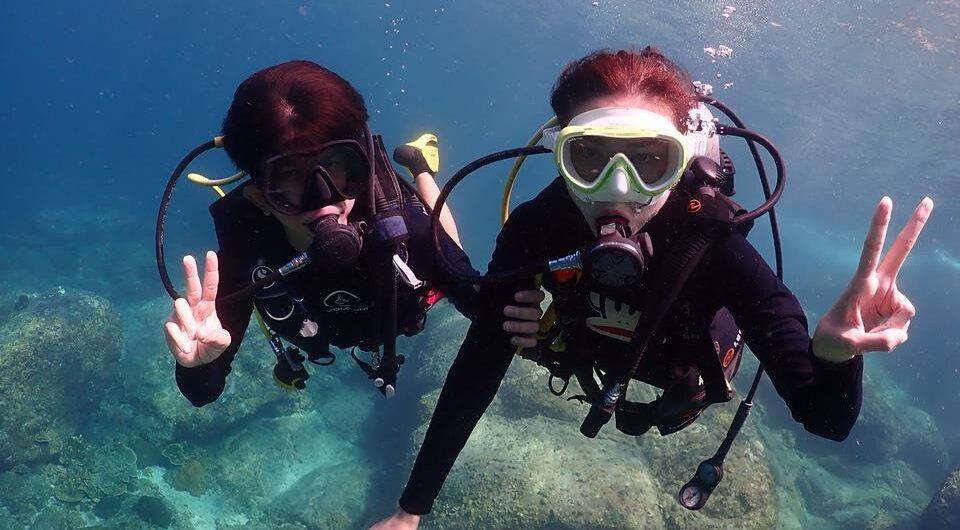ラチャノイ島 ダイビング