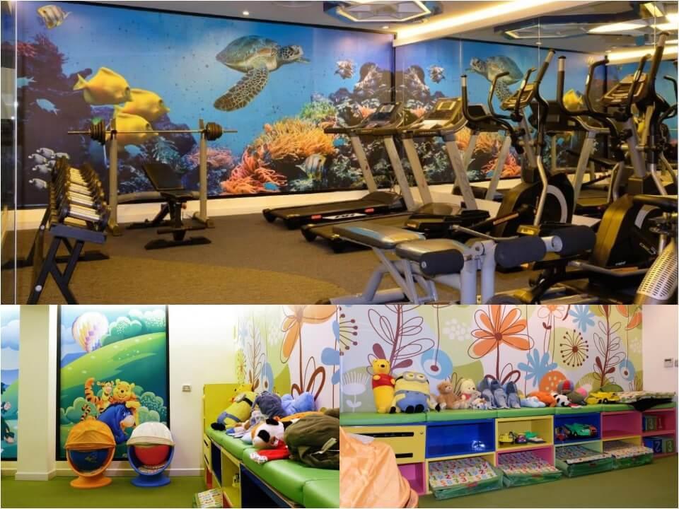 fitness,kidsroom